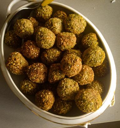 falafel vegan au four sans huile