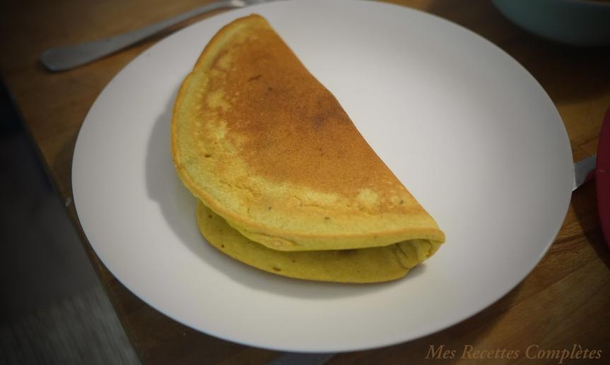 omelette vegan farine pois-chiche