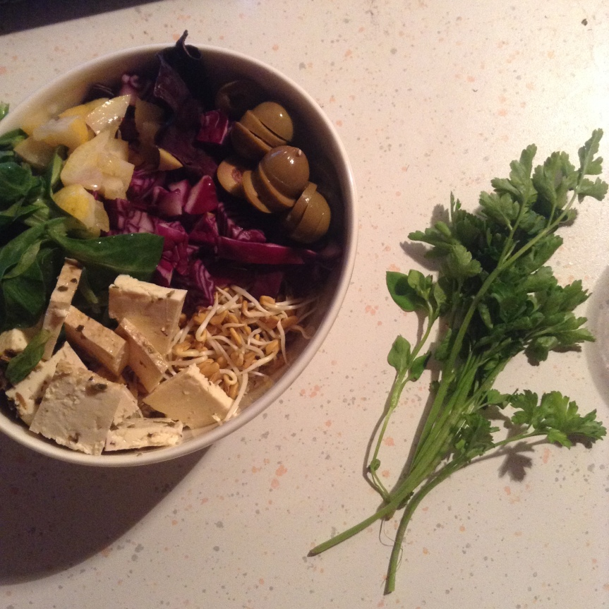 Salade de quinoaprovençale