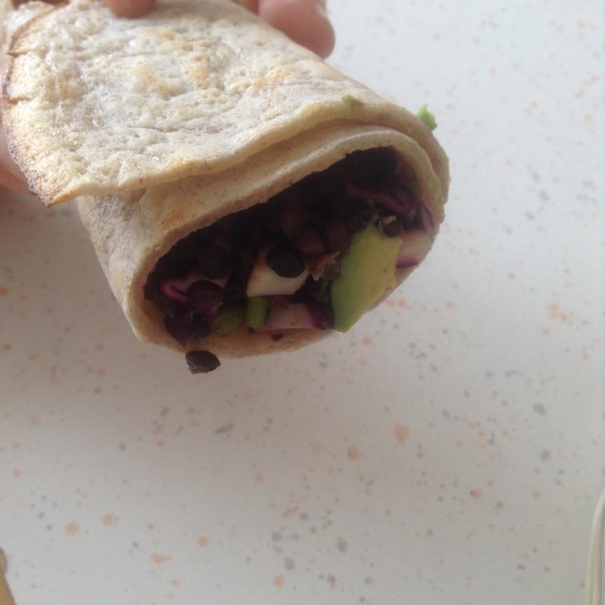 Wrap de grains entiers trempés + idées recettes (sansgluten)