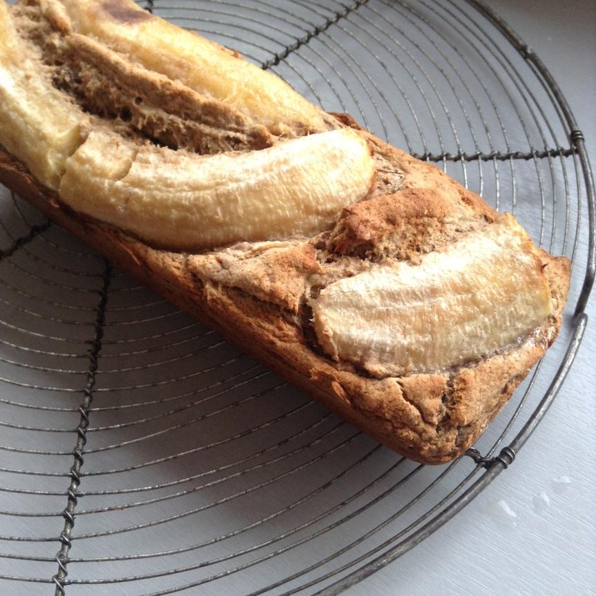 Banana bread sans sucre et sansgluten