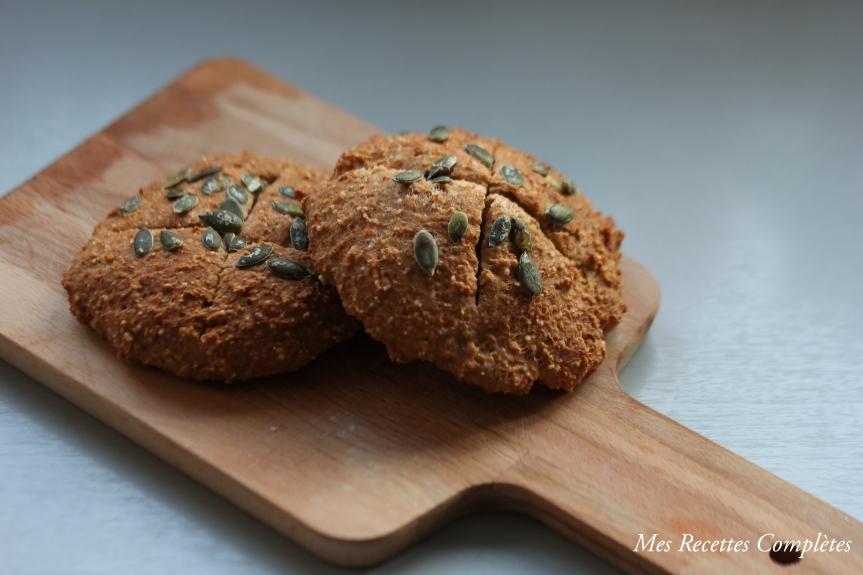 Petits pains de grains entiers au psyllium (sansgluten)
