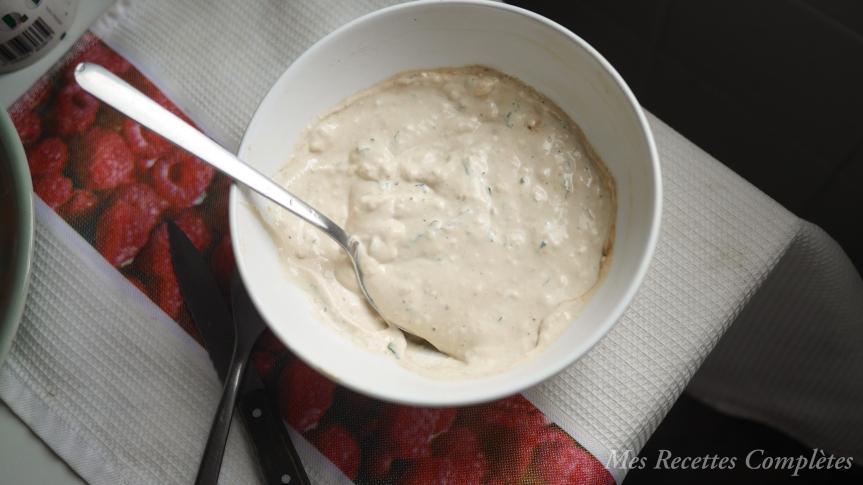 crème fromagère vegan express économique sans noix de cajou